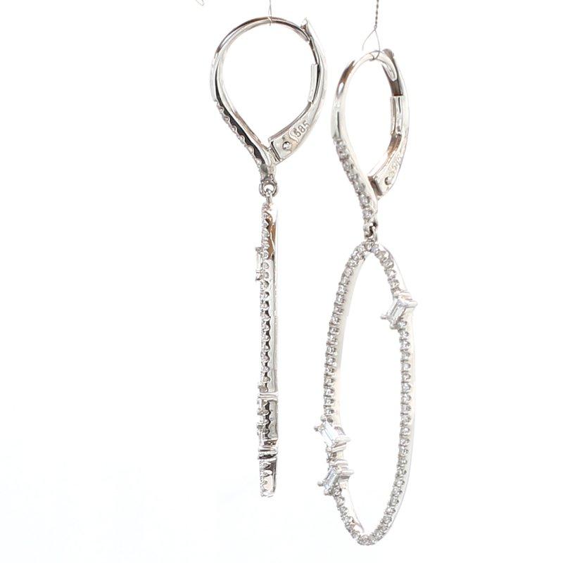 Spicer Greene Diamond Dangle Earrings