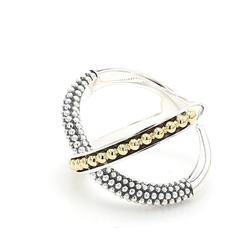 Lagos Caviar X Ring