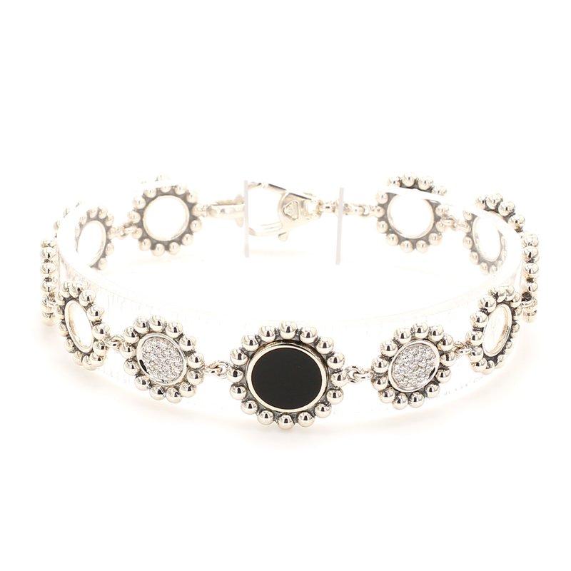 Lagos Diamond & Onyx Bracelet