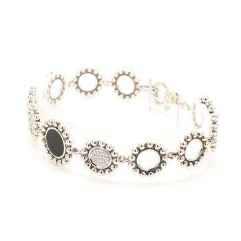 Diamond & Onyx Bracelet