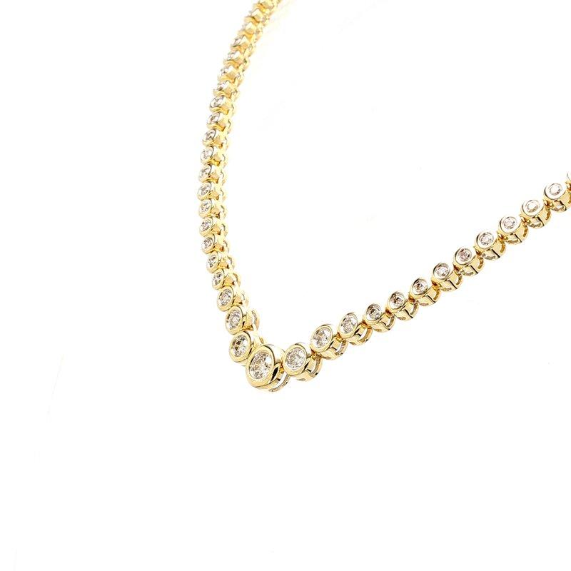 Estate Diamond Rivera Necklace