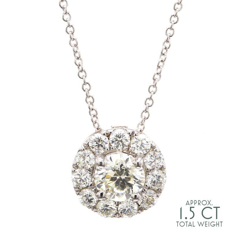 Everyday Diamonds Diamond Cluster Pendant