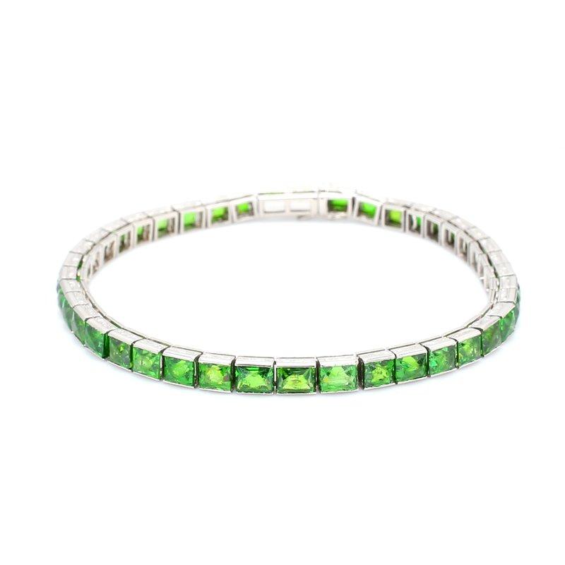 Estate Garnet Tennis Bracelet