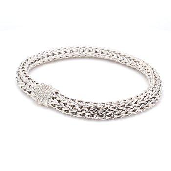 Silver Classic Chain Bracelet