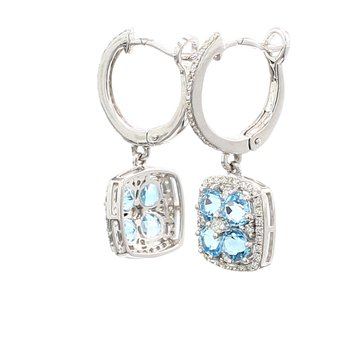 Topaz Dangle Earrings