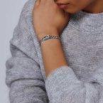 John Hardy Silver Naga Bracelet