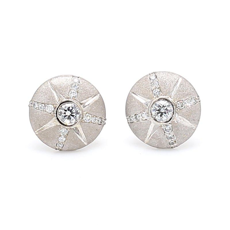 Spicer Greene Diamond Stud Earrings