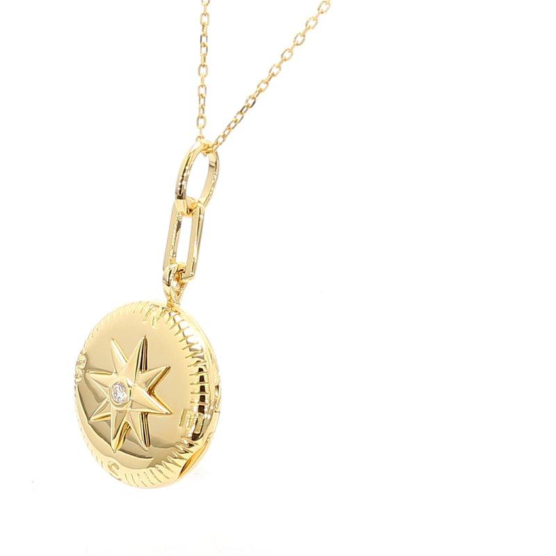 Monica Rich Kosann Gold Locket