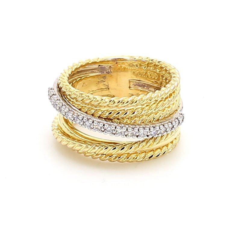 Estate Estate David Yurman Diamond Ring