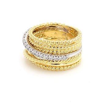 Estate David Yurman Diamond Ring