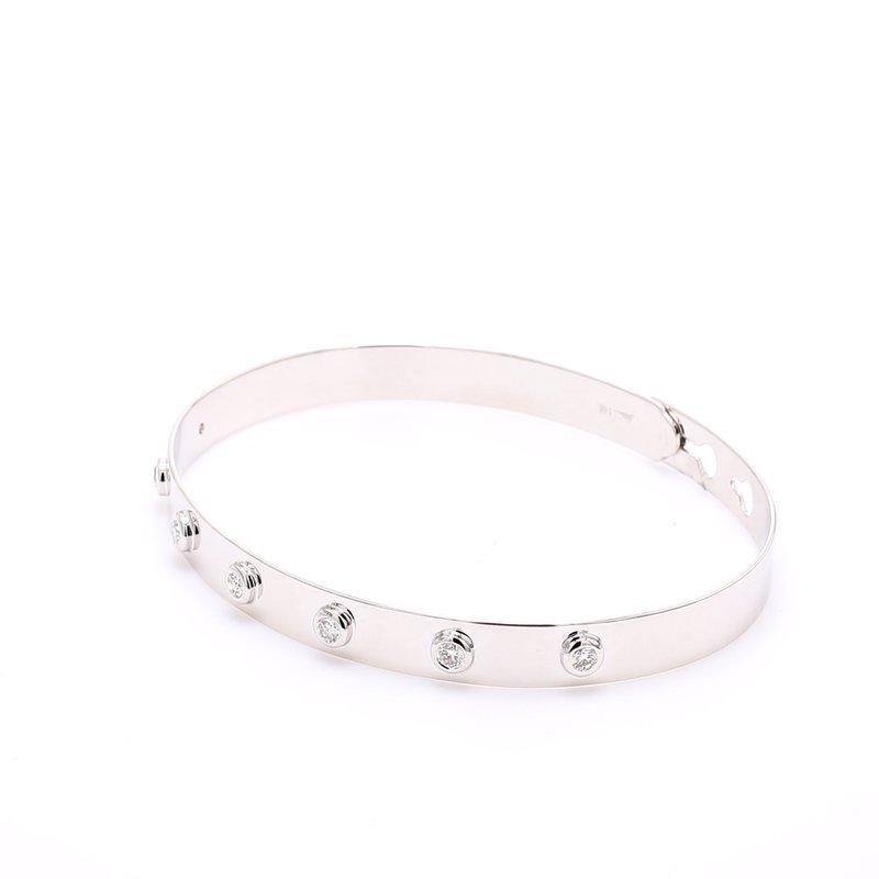 Spicer Greene Diamond Bangle Bracelet