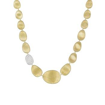 Lunaria Diamond Bib Necklace