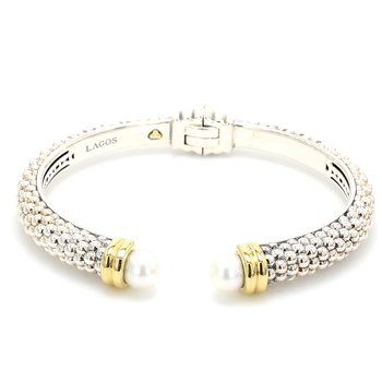 Freshwater Pearl Bangle Bracelet