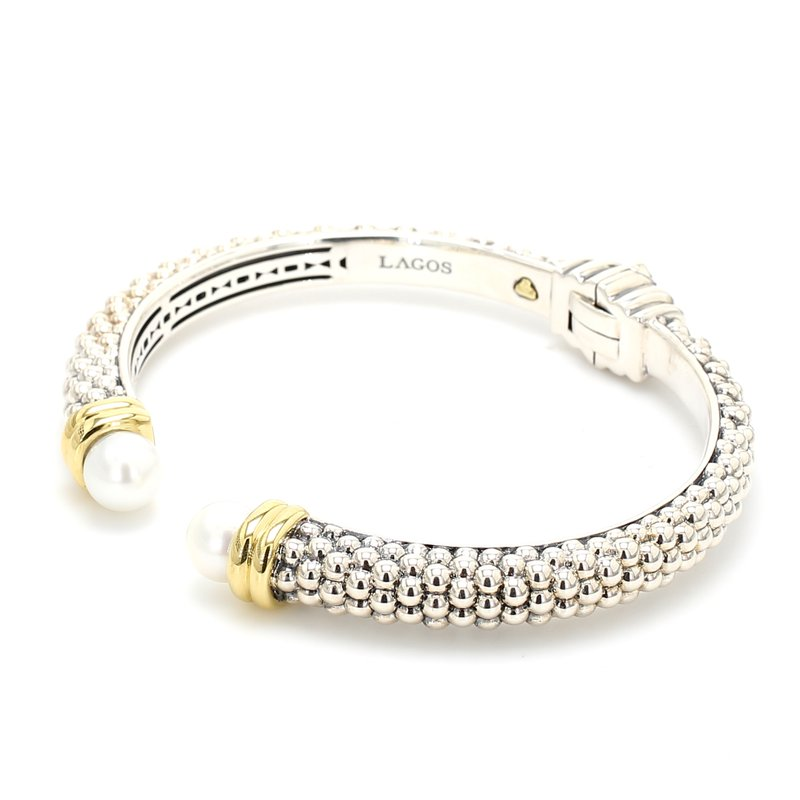 Lagos Freshwater Pearl Bangle Bracelet