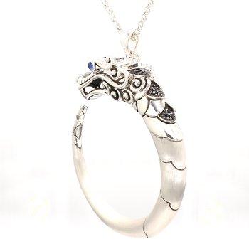 Legends Naga Silver Pendant in