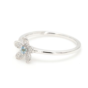 Topaz Flower Ring