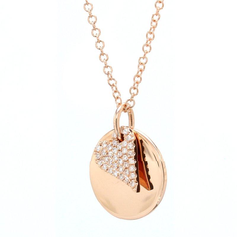 Spicer Greene Diamond Heart Pendant