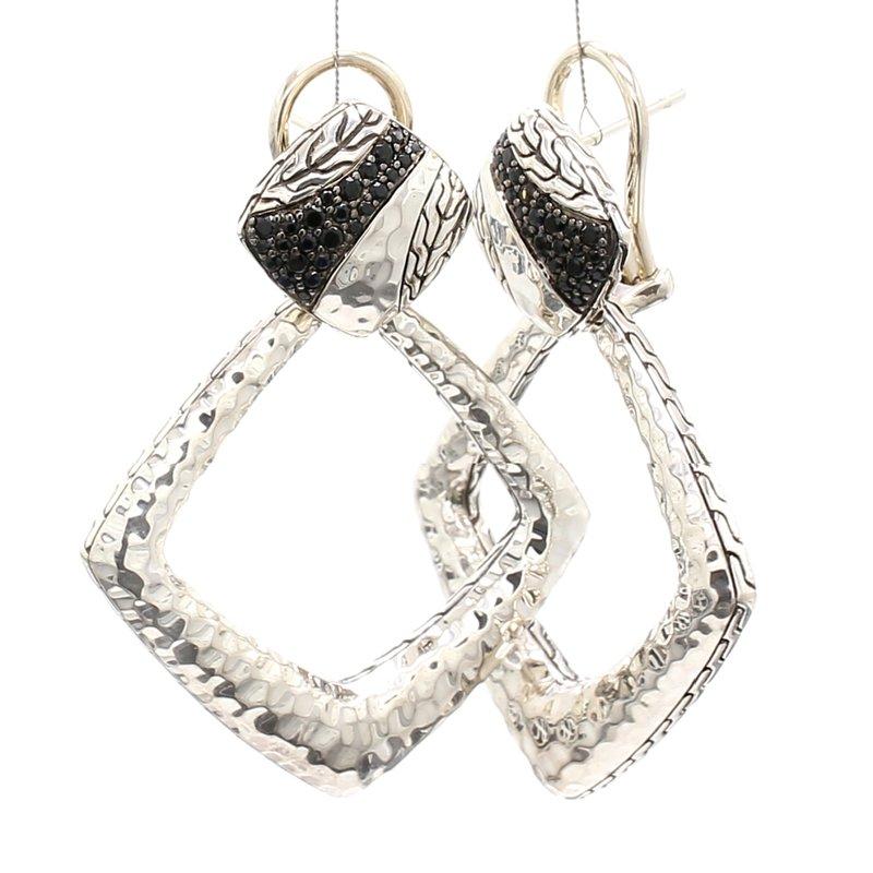 John Hardy Black Sapphire Dangle Earrings