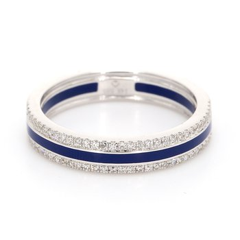Diamond Enamel Band