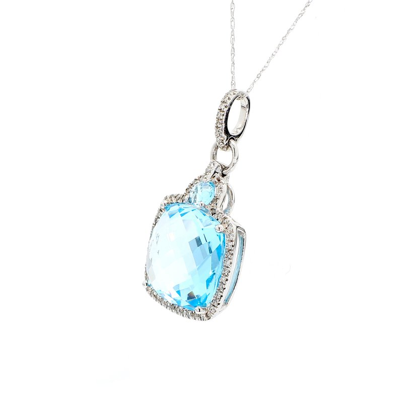 Color by Spicer Greene Topaz Drop Pendant