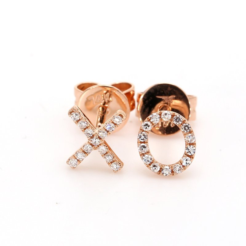 Spicer Greene Diamond XO Earrings