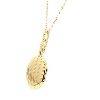 Pinstripe Locket