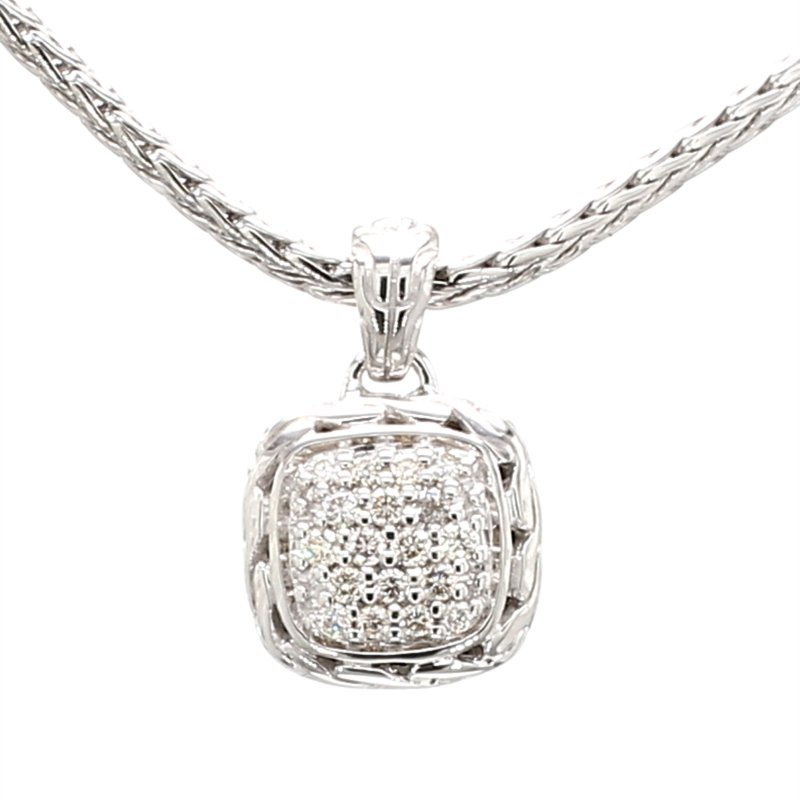 John Hardy Women's Classic Chain Diamond