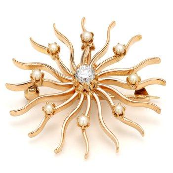 Star Diamond Pin