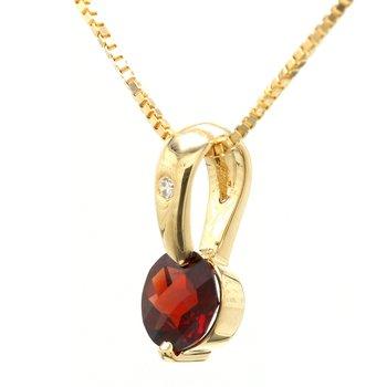 Drop Garnet Pendant