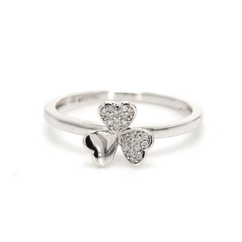 Diamond Shamrock Ring