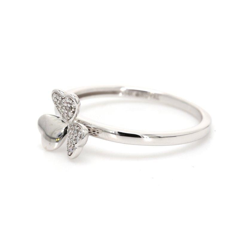 Spicer Greene Diamond Shamrock Ring