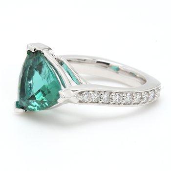 Modern Tourmaline Ring
