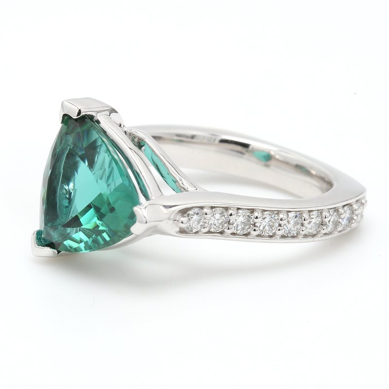 Color by Spicer Greene Modern Tourmaline Ring