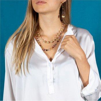 Africa Gemstone Necklace