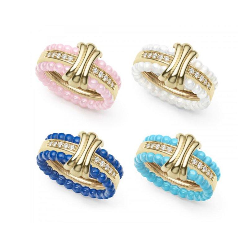 Lagos Color Change Diamond Ring