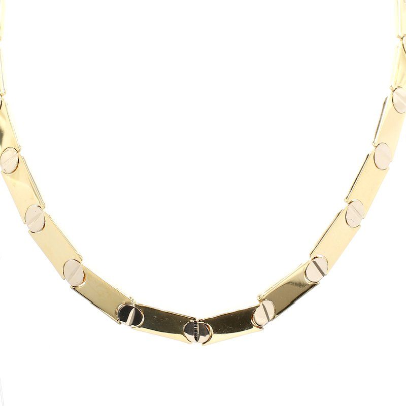Estate Two-Tone Necklace