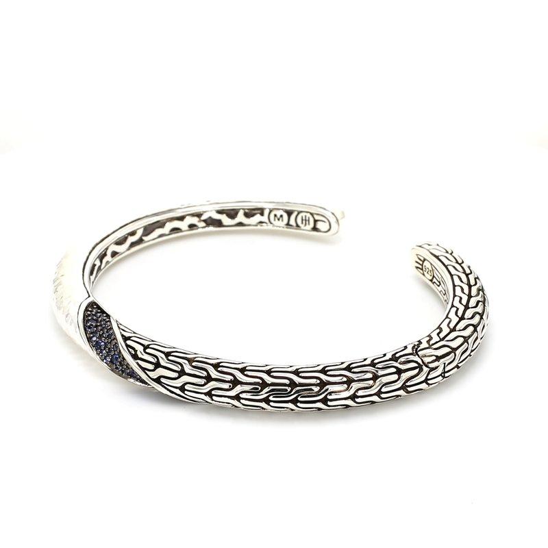 Sapphire Cuff Bracelet