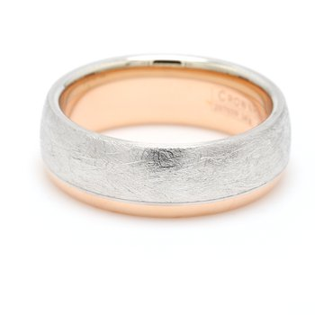 7.5mm 14 Karat Gold Wedding Band