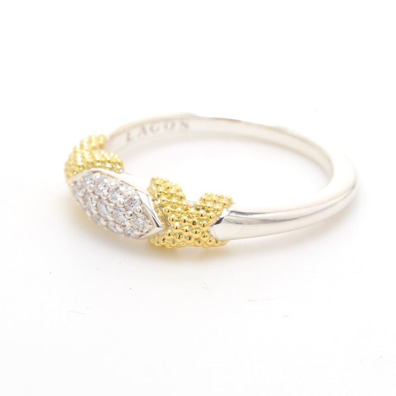Lagos Stackable Diamond Ring