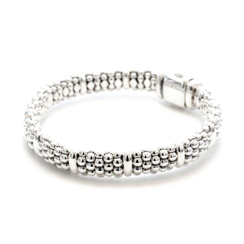 Lagos Silver Caviar Bracelet