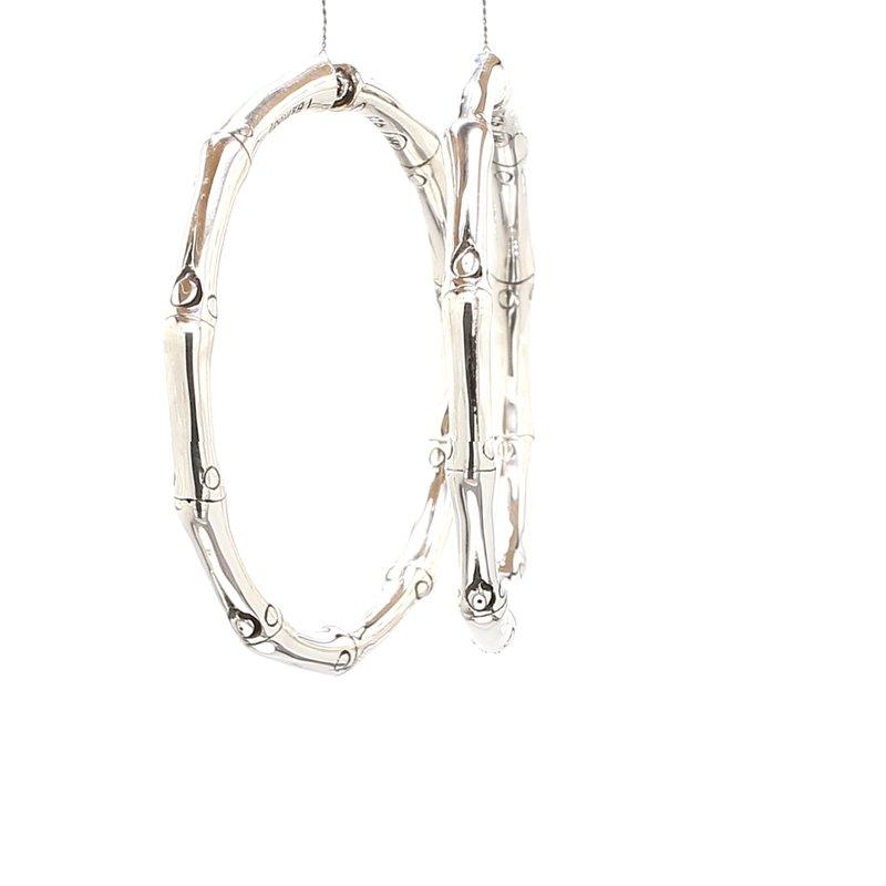 John Hardy Bamboo Hoop Earrings