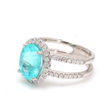 Paraiba Tourmaline Ring