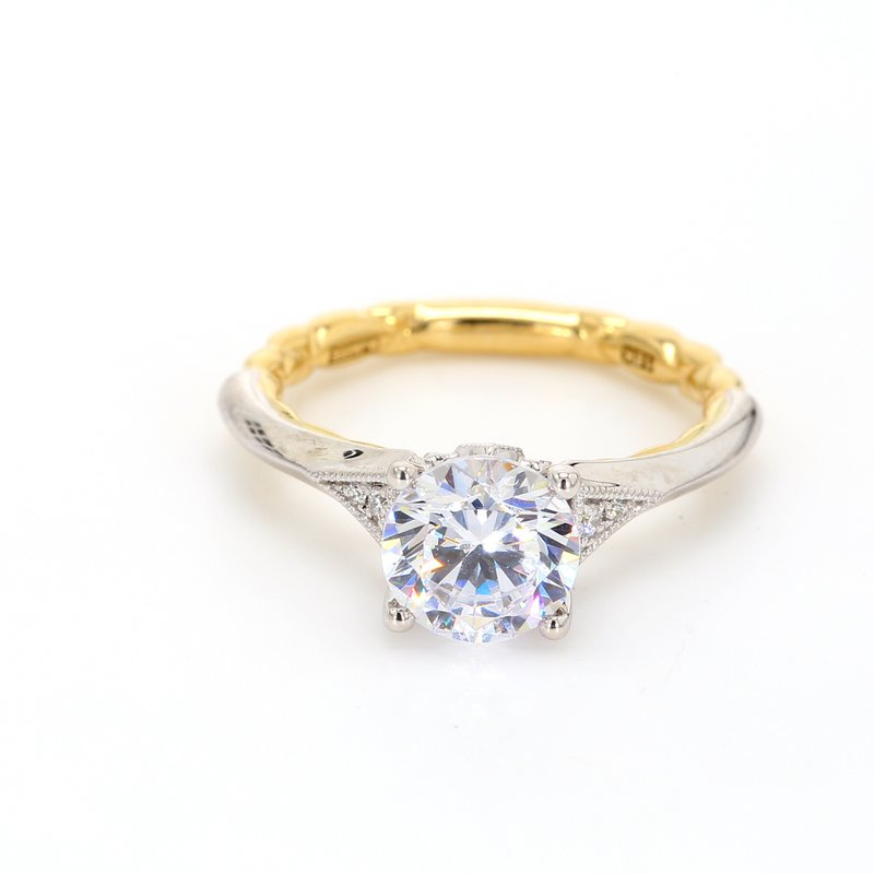 A.Jaffe Semi Mount Engagement Ring