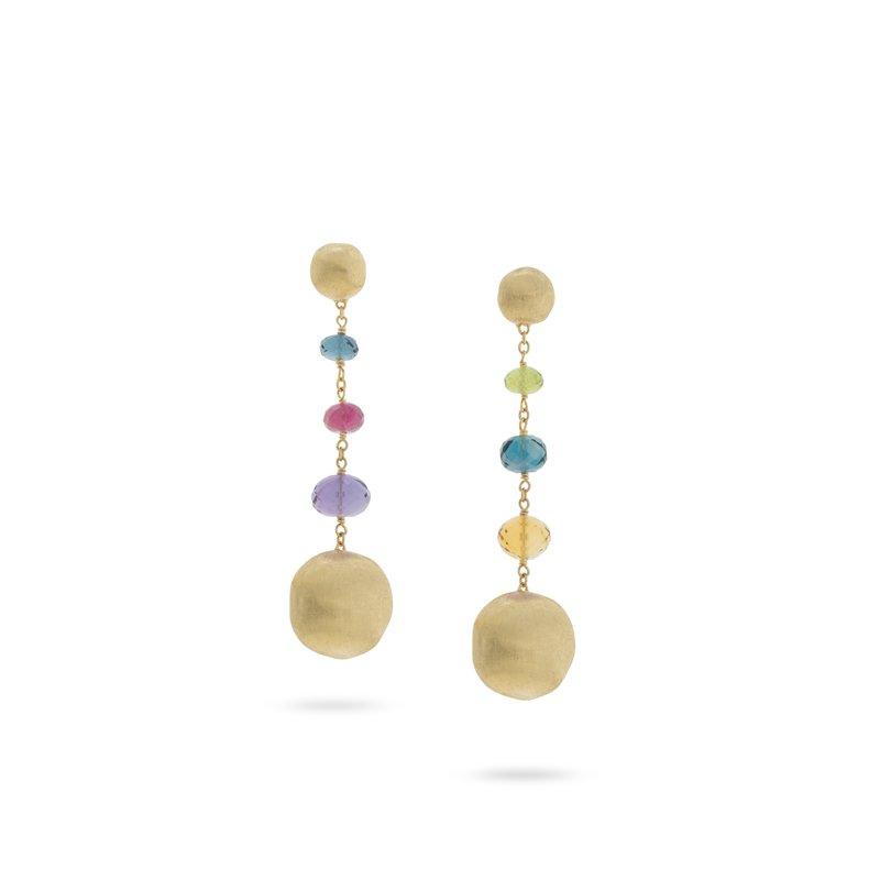 Marco Bicego Africa Gemstone Dangle Earrings