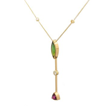 Fashion Tourmaline Pendant