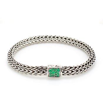 Emerald Chain Bracelet