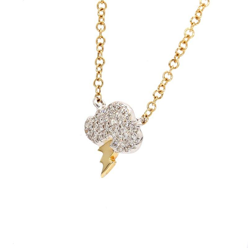 Spicer Greene Diamond Storm Cloud Necklace