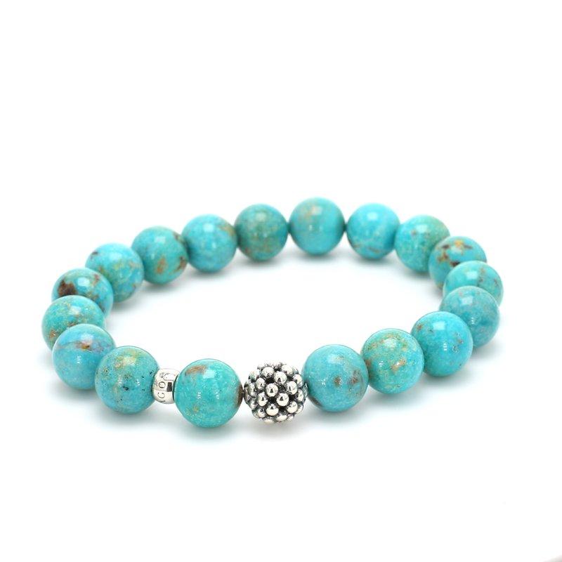 Lagos Turquoise Bead Bracelet