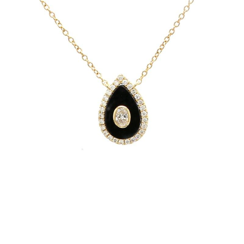 Spicer Greene Diamond & Black Onyx Pendant