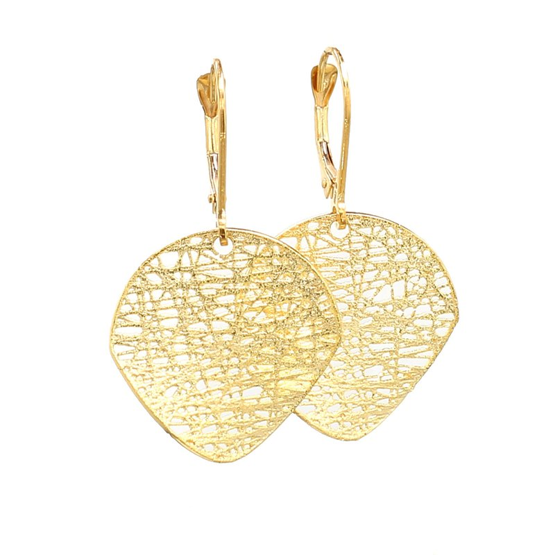 Spicer Greene Yellow Gold Dangle Earrings
